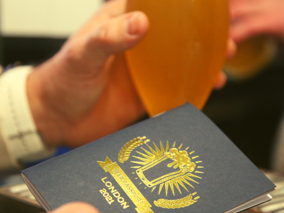 Beer Passport WITH BEER