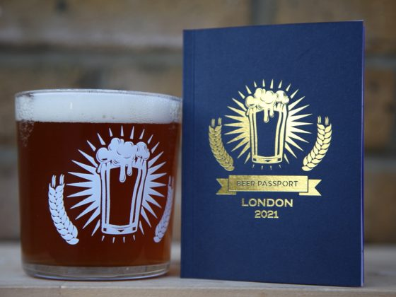 Beer Passport (London) and 2/3 Pint Tubo Glass