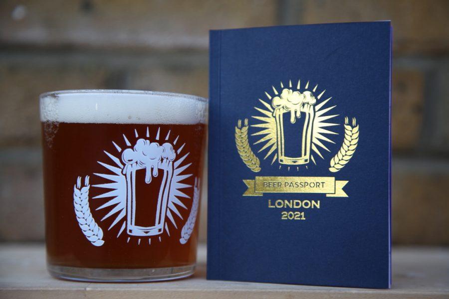 Beer Passport (London) and 2/3 Pint Tubo Glass